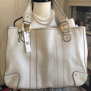 Marc Jacobs off white leather handbag